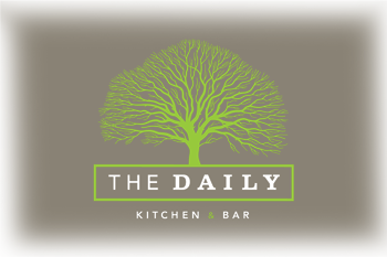 The Daily Logo Scroll Down